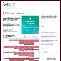 DLF Community Calendar
