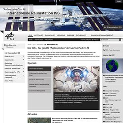 Internationale Raumstation ISS - Home