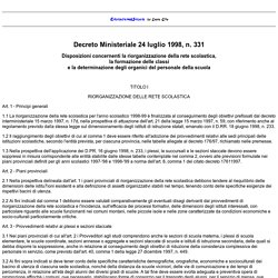 DM 331/98
