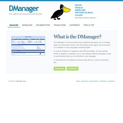 Document Manager - File sharing - DMS Document Management System
