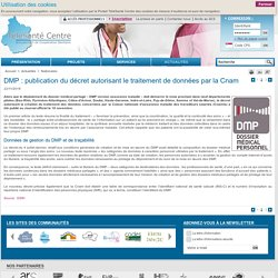 DMP : publication décret