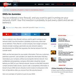 DMZs for dummies