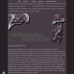 Supernaturalspirit Magic