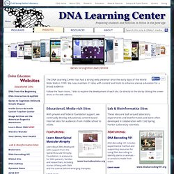 Internet Sites :: Dolan DNA Learning Center