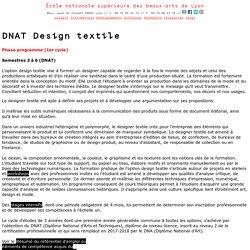 DNAT Design textile
