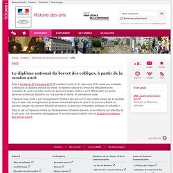 DNB-Histoire des arts-Éduscol