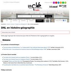 DNL en histoire-géographie