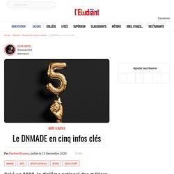 Le DNMADE en cinq infos clés - L'Etudiant