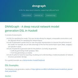dnngraph by ajtulloch