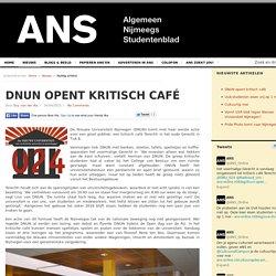 DNUN opent kritisch café