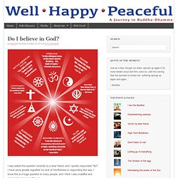 Do I believe in God? | Well Happy Peaceful