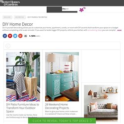 Home & Garden, Home Decor, DIY Projects and More