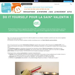 Do It Yourself pour la Sain* Valentin !