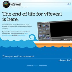 Video Enhancement Software - Free Download | www.vreveal.com