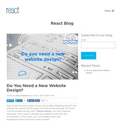 Do You Need a New Website Design?