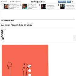 Do Your Parents Spy on You?