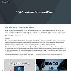 Dobry VPN