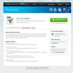 Doc Scrubber™
