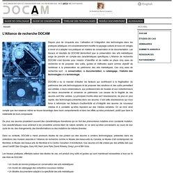 Documentation et conservation du patrimoine des arts médiatiques / DOCAM