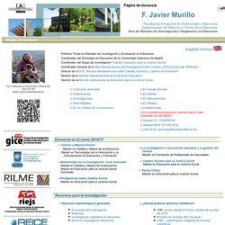 Página de docencia de F. Javier Murillo Torrecilla