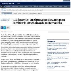 775 docentes en el proyecto Newton para cambiar la enseñanza de matemáticas