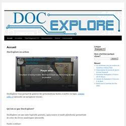 DocExplore : livres animés interactifs
