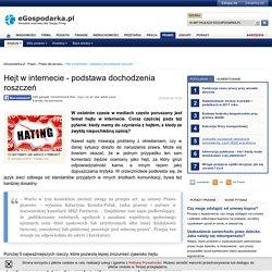 Hejt w internecie - podstawa dochodzenia roszczeń - eGospodarka.pl - Prawo dla biznesu