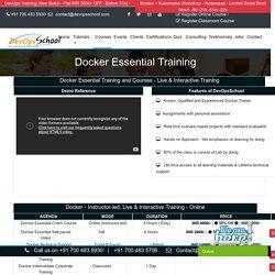 Docker Essential Course