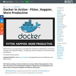 Docker in Action - fitter, happier, more productive
