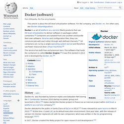 Docker (software)