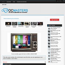 Docmasters.tv - Online documentary community