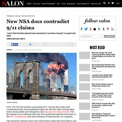 New NSA docs contradict 9/11 claims - 9/11