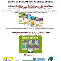 Expos et documents pour les écoles