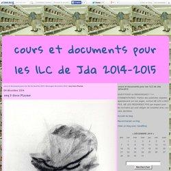 seq 3 docs PLume - cours et documents pour les 1LC de Jda 2014-2015