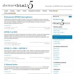 Docteur HTML5, Travailler en HTML5 dès aujourd'hui!