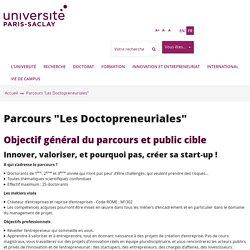 """Parcours """"Les Doctopreneuriales"""""""