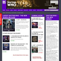 Doctor Who - The New Series - Ranges - Big Finish