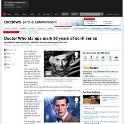 Doctor Who stamps mark 50 years of sci-fi series - Arts & Entertainment