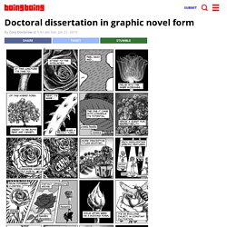 Doctoral dissertation in graphic novel form