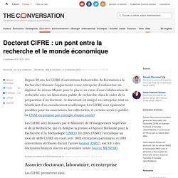Doctorat CIFRE : un pont entre la recherche et le monde économique