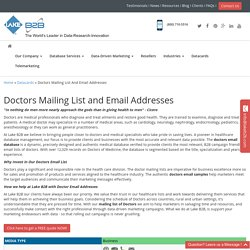 Doctor Email Database