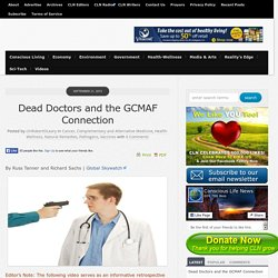 Dead Doctors and the GCMAF Connection