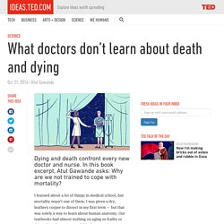What doctors don't learn about death and dying
