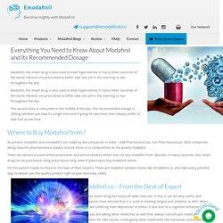 Doctors Review On Modafinil Smart Drug