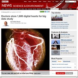 Doctors store 1,600 digital hearts for big data study
