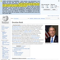 Doctrine Bush