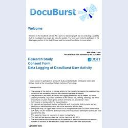 DocuBurst