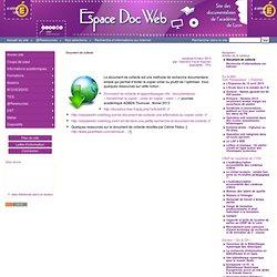 Document de collecte - Espace Doc Web