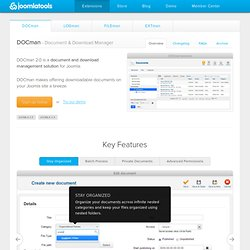 DOCman - Document & Download Manager