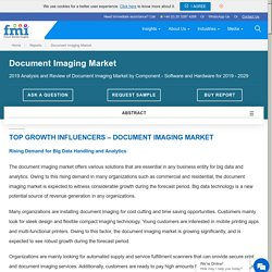 Document Imaging Market Size, Share & Forecast 2029